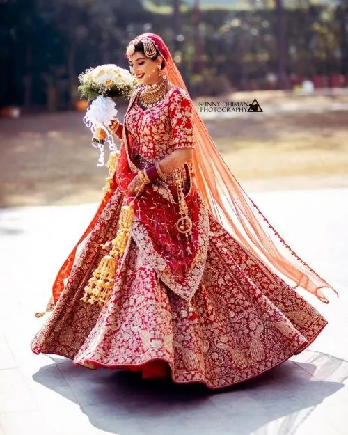 Bridal Lehengas- Fab Weddings