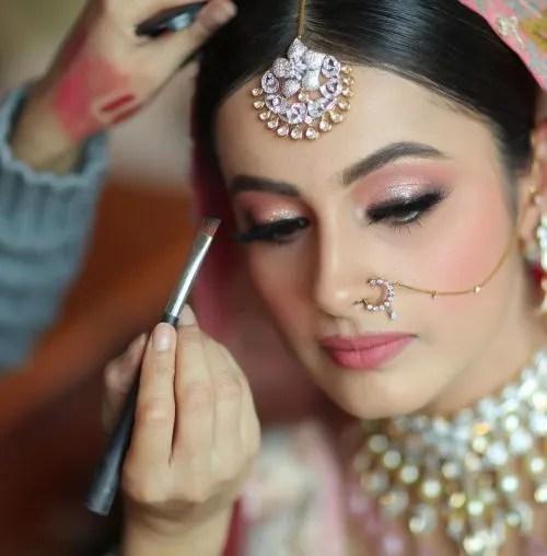 bridal makeup leena bhushan