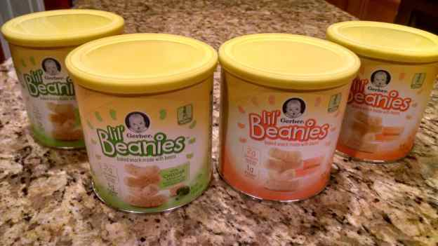 healthy toddler snacking gerber lil beanies