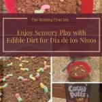 Enjoy Sensory Play with Edible Dirt for Dia de los Ninos