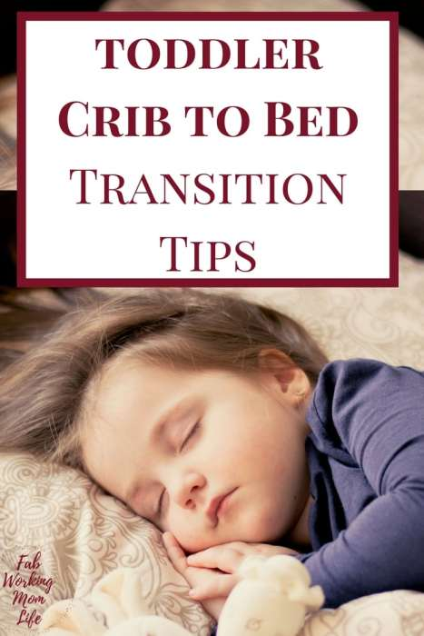 how to change from crib to toddler bed