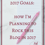Planning to Rock this Blog in 2017