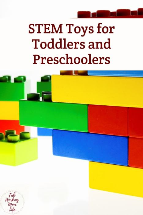 STEM toys for toddlers and preschoolers | Fab Working Mom Life #toddlers #preschoolers #stemtoys