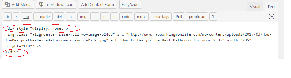 how to put image in a div