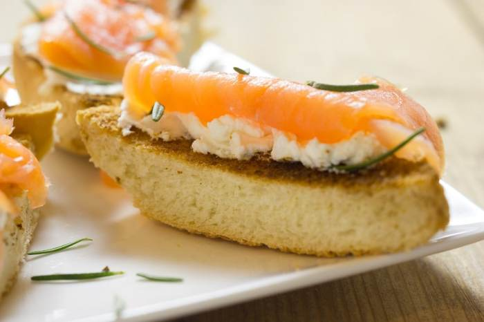 The Smoked Salmon Tarts Recipe