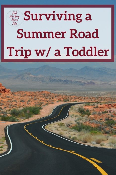Surviving a Summer Road Trip with a Toddler | This #NoMessInTexas post was sponsored by @treetopinc
