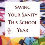 Saving Your Sanity This School Year