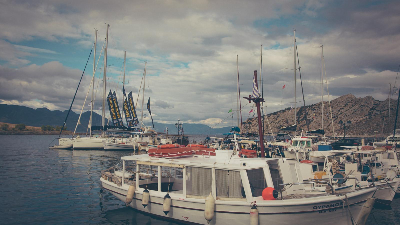 Ermioni fishboats