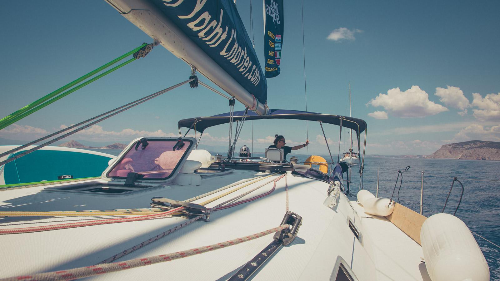 Skipper in charge