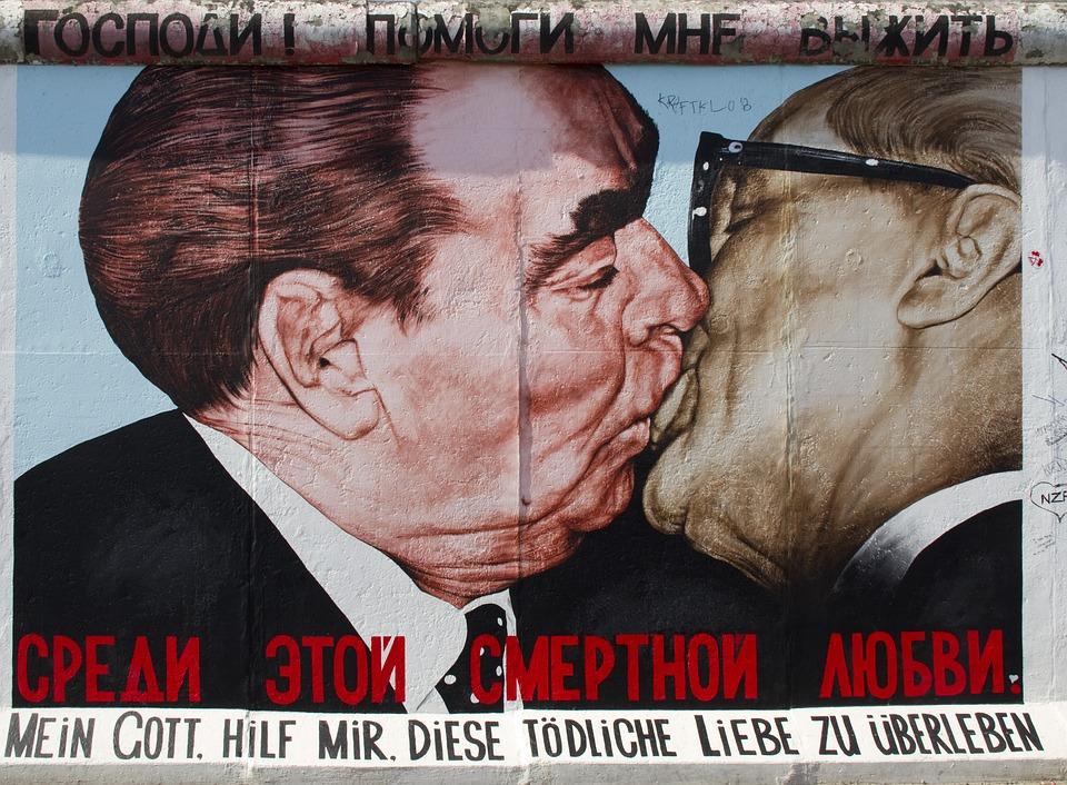 Irony The Berlin Wall Reunion Judas