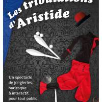 Affiche spectacle Les tribulations d'Aristide