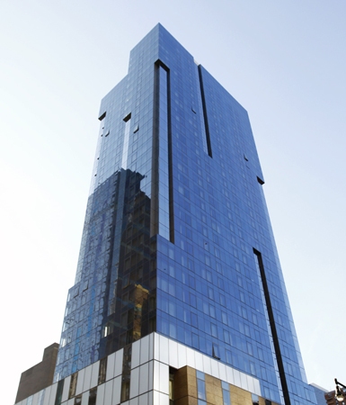 Unitized Curtain Wall Featured