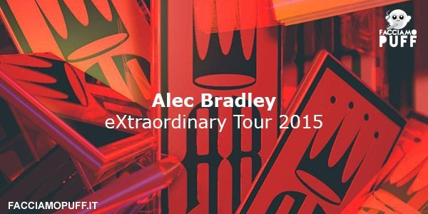 Alec Bradley in tour