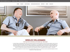 Praxiswebsite-Zahnarzt-hansen-und-partner-wanderup-face-it-medical