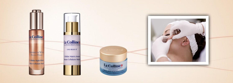 Bij aankoop van een La Colline crème of serum 50% korting op een La Colline focus treatment
