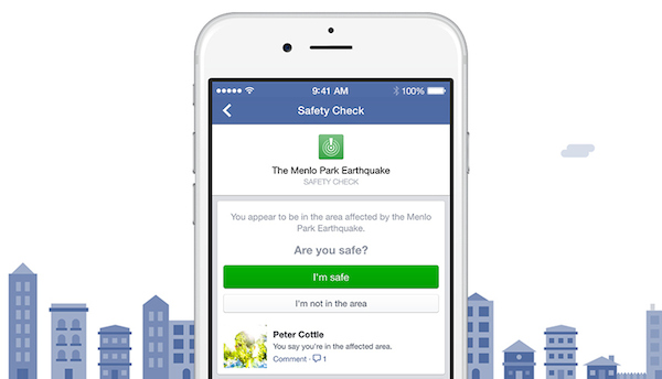 Facebook Safety Check Feature