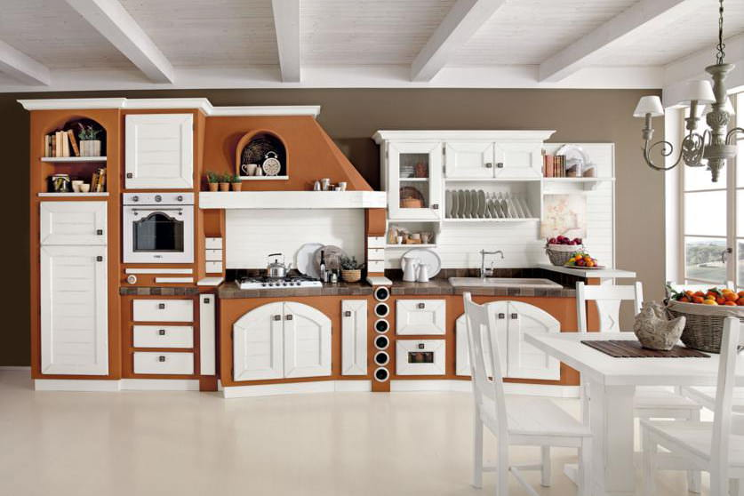 Cucine in Muratura Rustiche e Moderne  FaceHome