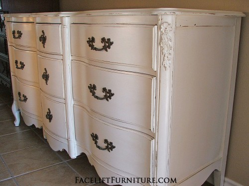 White French Provincial Dresser FLF
