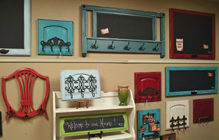 Repurposed Wall Pieces