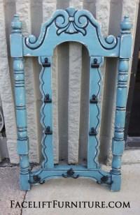 Chair Backs Repurposed into Coat Racks - Facelift Furniture