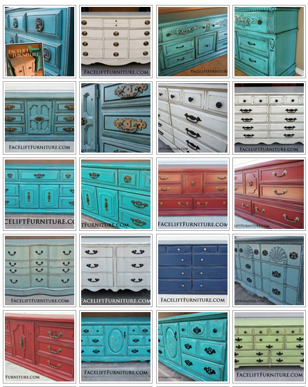 "Facelift Furniture ""Dressers"" album"