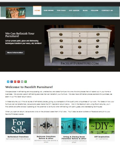 Facelift Furniture - Custom Refinishing Services & DIY Inspiriation