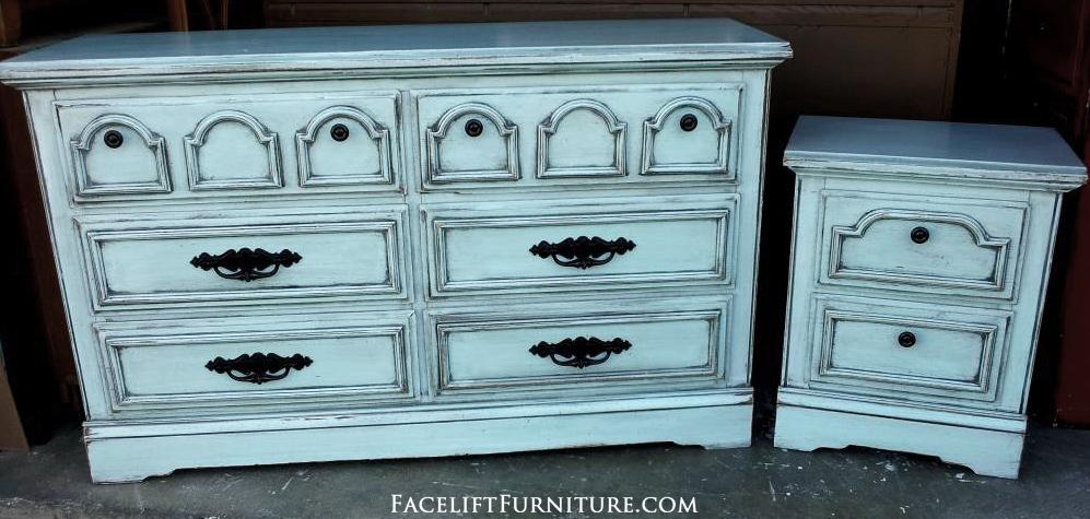 robins egg blue furniture
