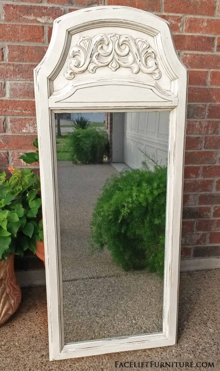 Mirror Ornate Off White