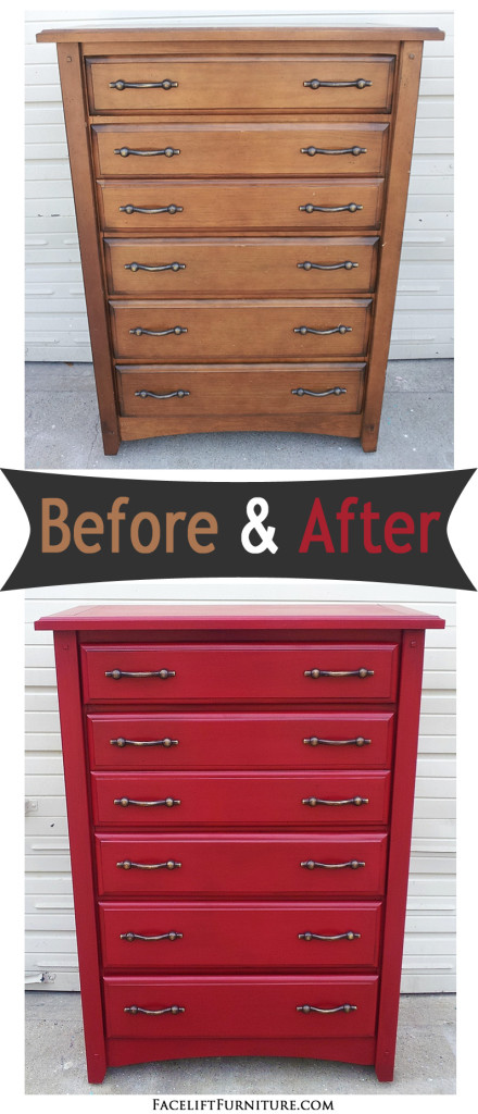 Red Chest Before U0026 After