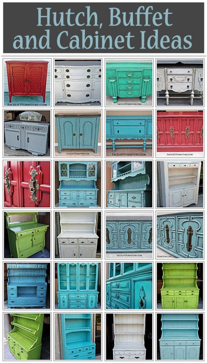 Hutch, Buffet & Cabinet Ideas from Facelift Furniture