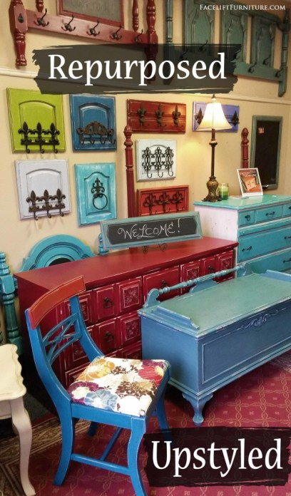 With paint, glaze and distressing, the sky is the limit with old furniture that's past it's prime. Cringe-worthy and destined for the curb, endless possibilities abound when a little outside-the-box imagination is applied to dated and dreary pieces.