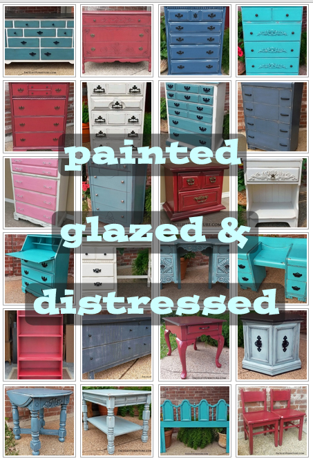 Painted - Glazed - Distressed BL