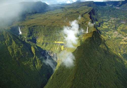 Pitons cirques and remparts of Reunion Island