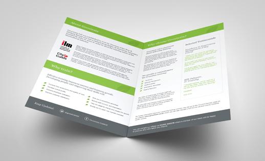 Folded Leaflet Templates FREE Download Face Media Group
