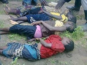 Tragedy: The four drowned kids