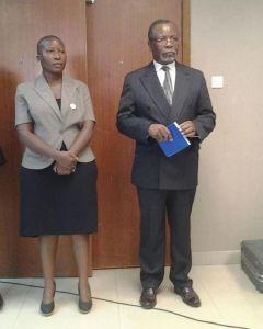 Chapola with UDF deputy publcity secretary