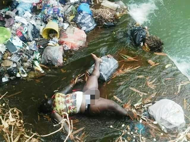 Photos: Dead Body Of Man Swept Away By Heavy Flood In Bida