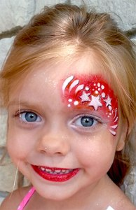 face painting, Cincinnati Reds