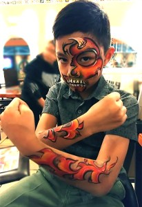 Face and Body Painting El Rancho Nuevo Cincinnati Ohio