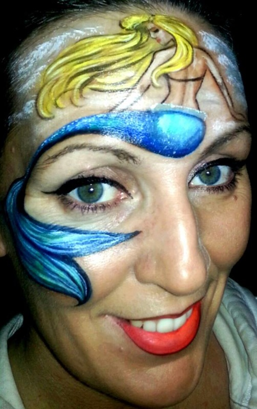 Designs For Girls FACE PAINTING PARADISE IN SALT LAKE