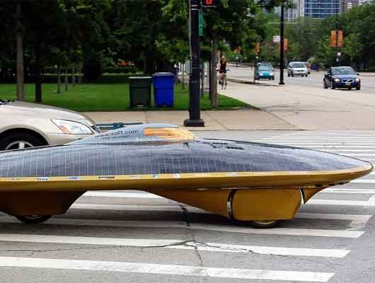 7 модерних возила на соларну енергију