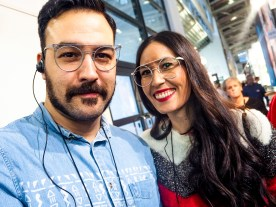 Miguel & Nuria, eyewear blogger from Spain