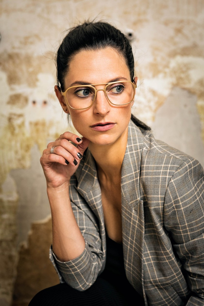 neubau eyewear x faceprint  marina Schedler photography