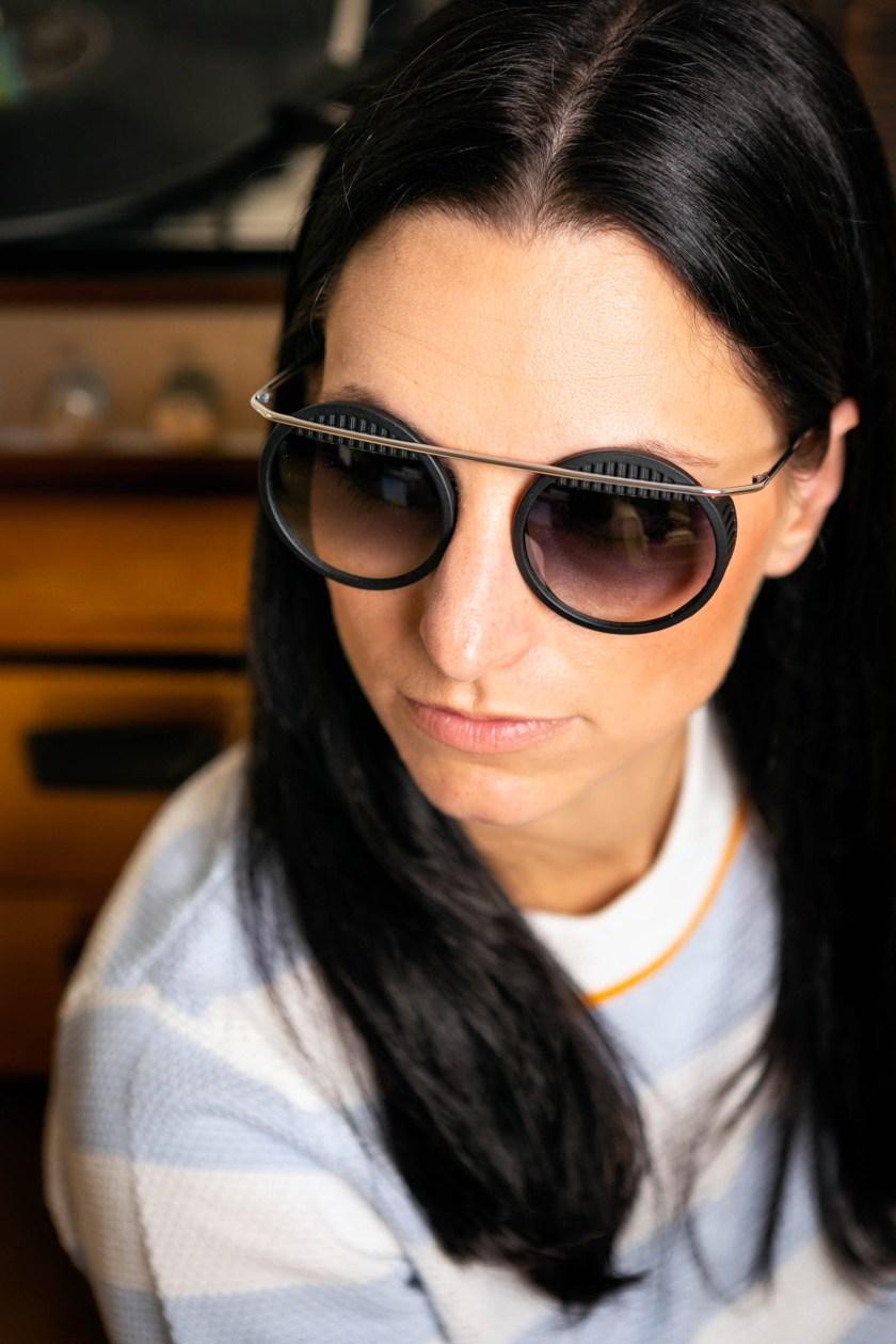 neubau eyewear x walter Wassily x faceprint