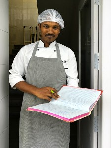 Chef Suresh, Grande Bay Resort and Spa, Mamallapuram, Tamil Nadu, South India, India, Food Travel, Food Tourism, Indian Food, Culinary Tours, Karen Anderson, Pauli-Ann Carriere, Faces Places and Plates Blog