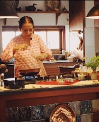 Nimmy Paul, cooking demonstration, South Indian cuisine, Kochi, Kerala, Faces Places and Plates blog