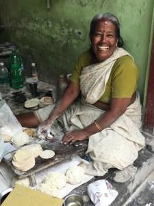 pappadam maker, Kochi, Fort Kochi, Cochin, Kerala, South India, India, Faces Places and Plates blog