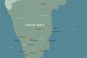 South India map, Kerala, Telangana, Tamil Nadu, Andhra Pradesh, Karnataka, South India, India, Faces Places and Plates blog