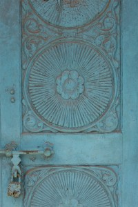 Blue door, Kochi, Fort Kochi, Cohin, Kerala, South India, India, Faces Places and Plates blog