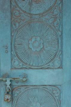 Blue door, Kochi, Fort Kochi, Cohin, Kerala, South India, India, Faces Places and Plates blog
